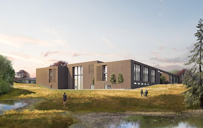 Visualisation of the new national police college